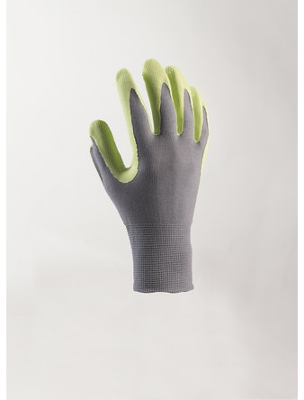 Handske Nelson Garden Touch Lime Stl. 8