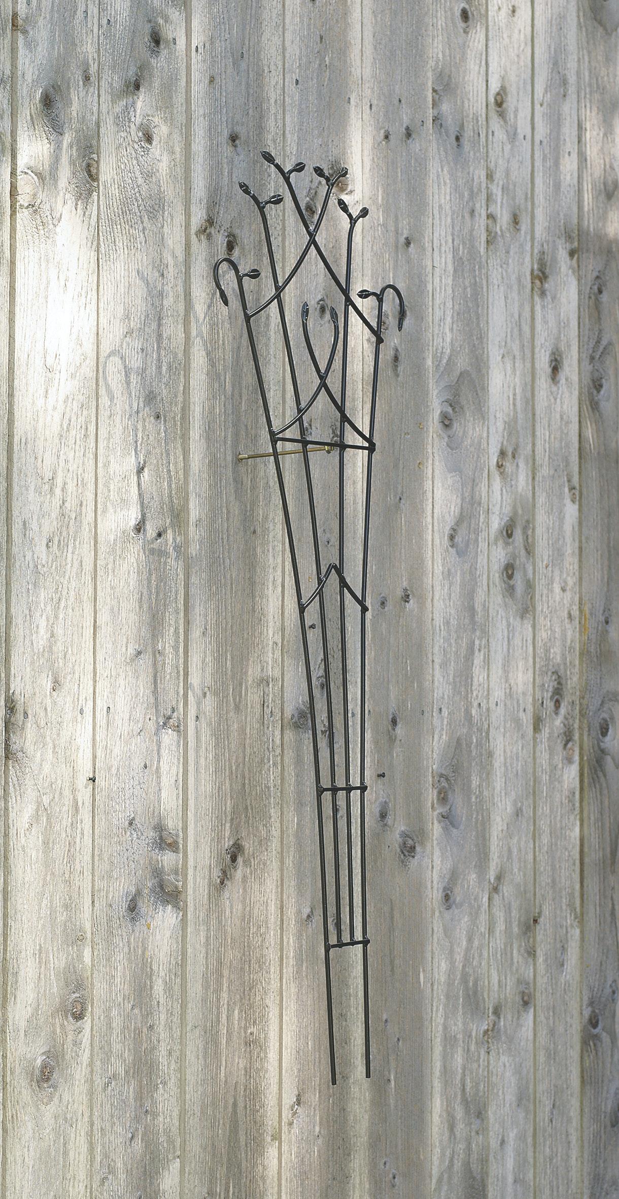 Spaljé Löv Nelson Garden Up & Grow Svart 39X123cm
