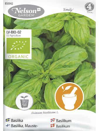 Frö Basilika Grön Organic