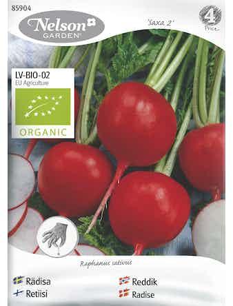 Frö Rädisa Rund Organic