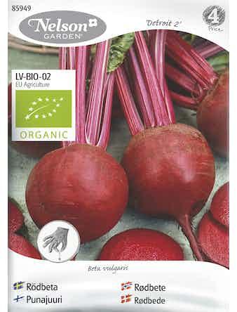 Frö Rödbeta Rund Organic