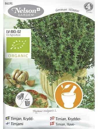 Frö Timjan Krydd Organic