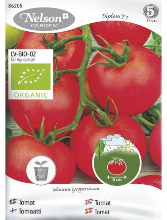 Frö Tomat Organic