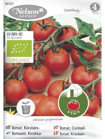 Frö Tomat Körsbärs Organic
