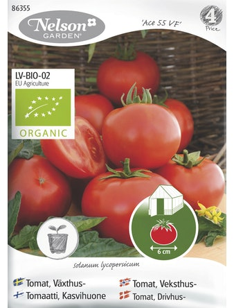Frö Tomat Växthus Organic