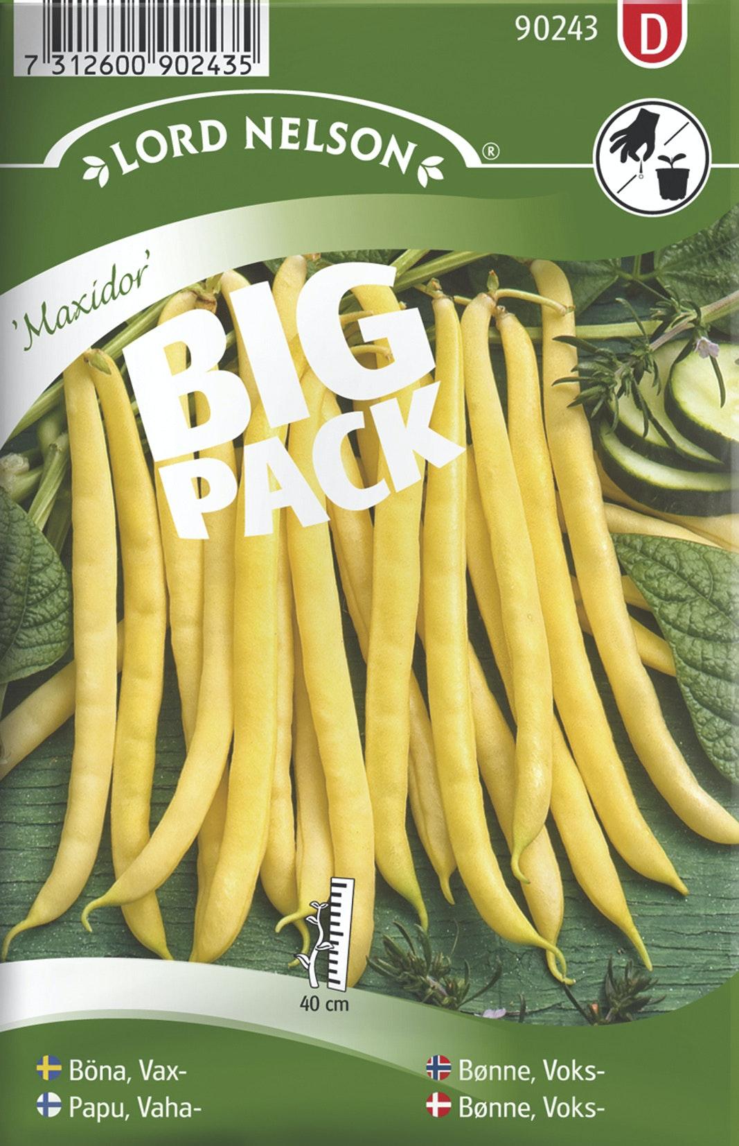 Böna Lord Nelson Vax Maxidor Big Pack