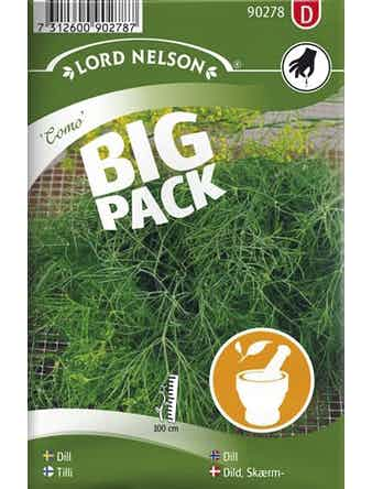 Dill Lord Nelson Vanlig Como Big Pack