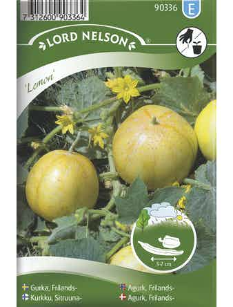 Gurka Lord Nelson Äppel Lemon