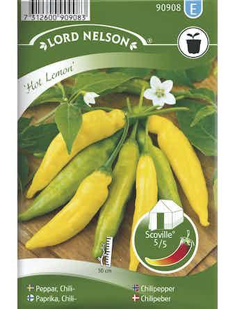 Chilipeppar Lord Nelson Hot Lemon