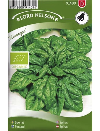 Spenat Monnopa Organic