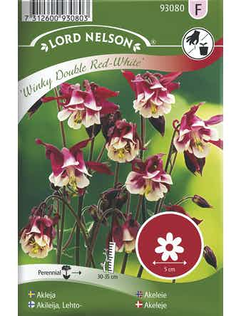 Akleja Lord Nelson Winky Double Red-White