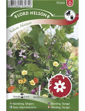 Slingerväxt Lord Nelson Blomsterblandning