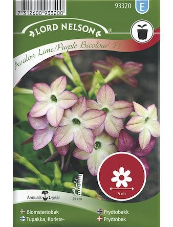 Blomstertobak Lord Nelson Avalon Lime-Purple F1