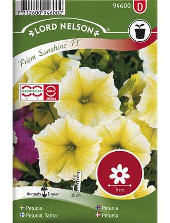 Petunia Lord Nelson Prism Sunshine F1 Storblommig