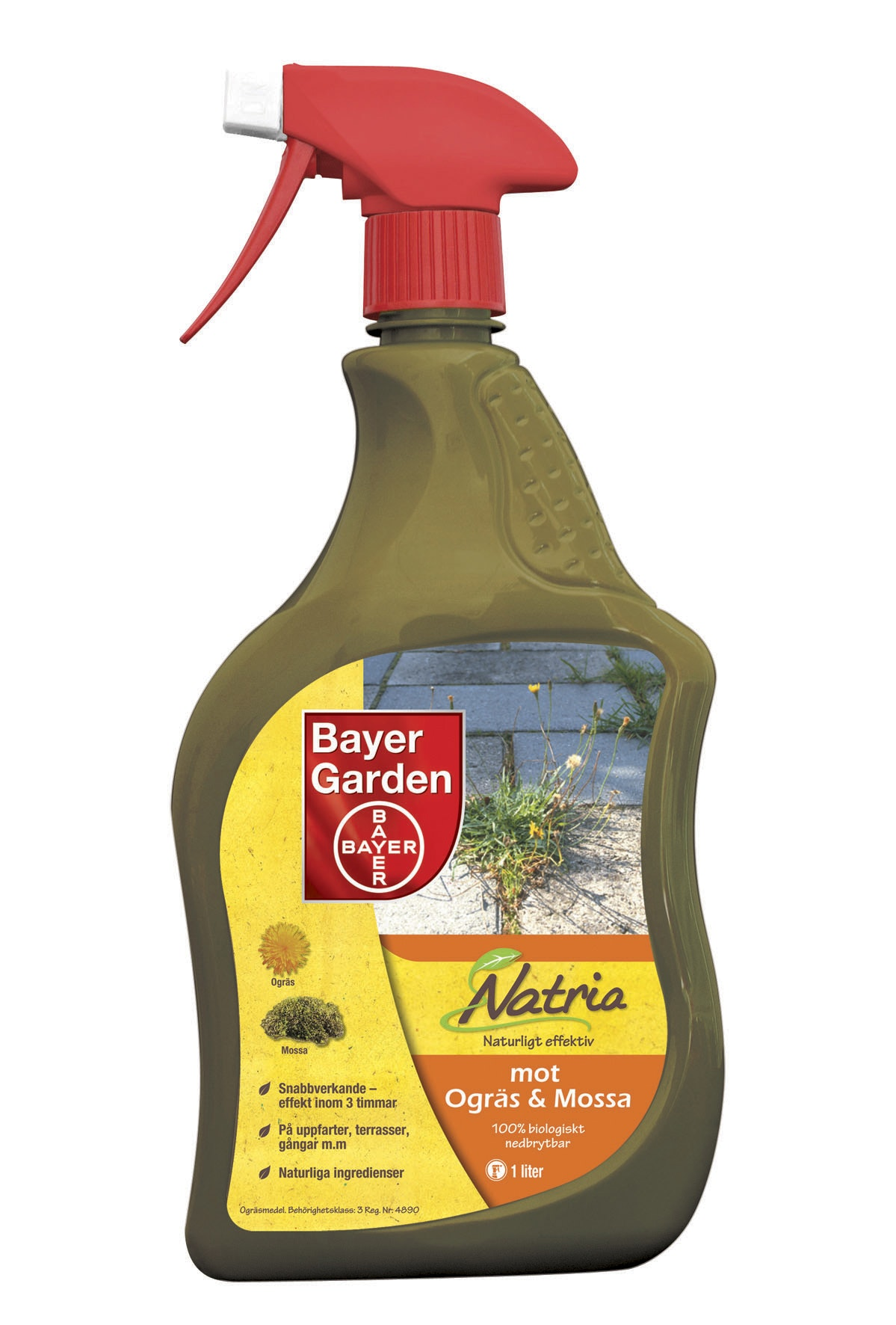 Ogräs/Mossa Bayer Natria Ogräsmedel Spray 1l