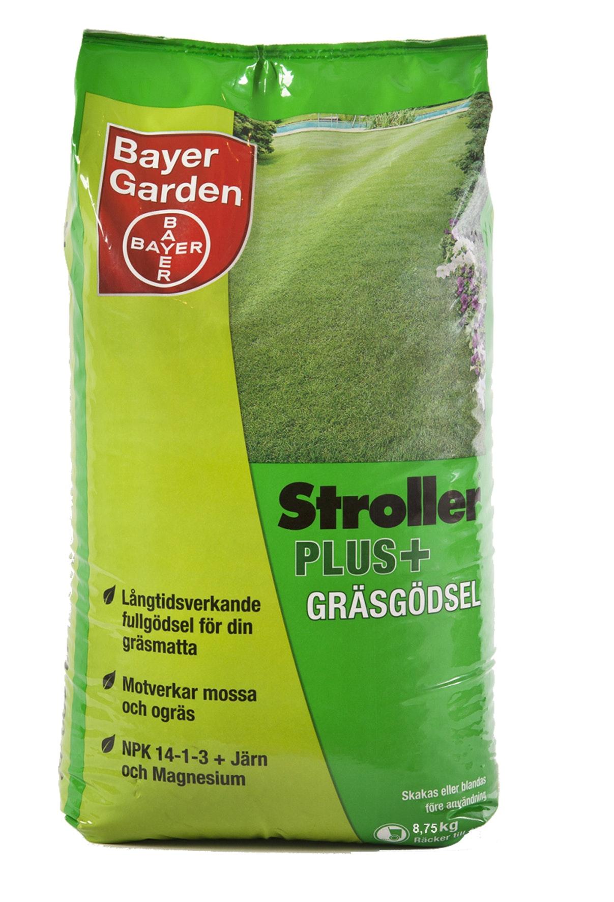 Gräsgödsel Bayer Stroller Plus 8,75kg