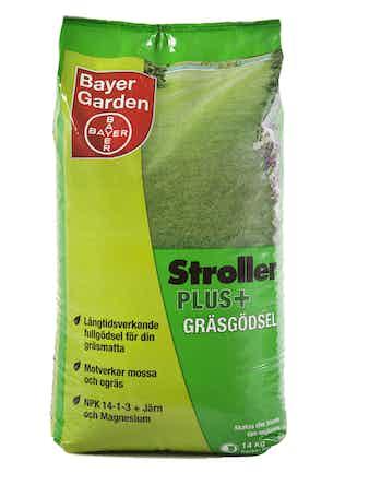 Gräsgödsel Bayer Stroller Plus 14Kg