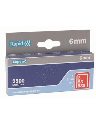 Klammer Rapid 53/6mm 2500-Pack