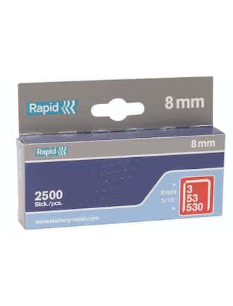 Klammer Rapid 53/8mm 2500-Pack