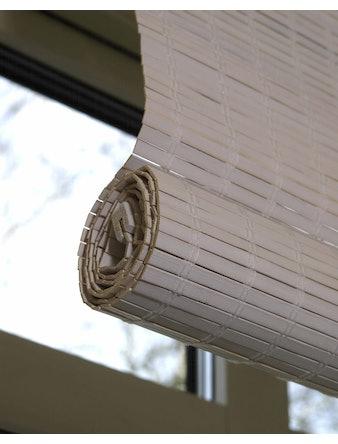 Rullgardin Gardinia Roll-Up Bambu Cream Vit 120X160cm