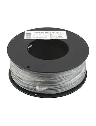 WIRE GALVAD 3MM 125M