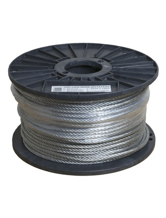 WIRE GALVAD 6MM 125M