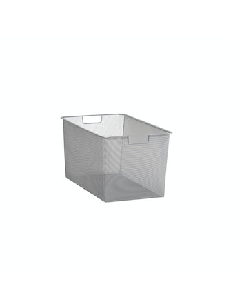 Mesh-Back Elfa 327X527X285mm platinum 135388