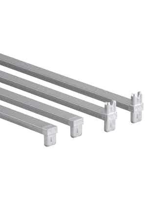 Tvärstag Elfa 350mm grundsats platinum 203084