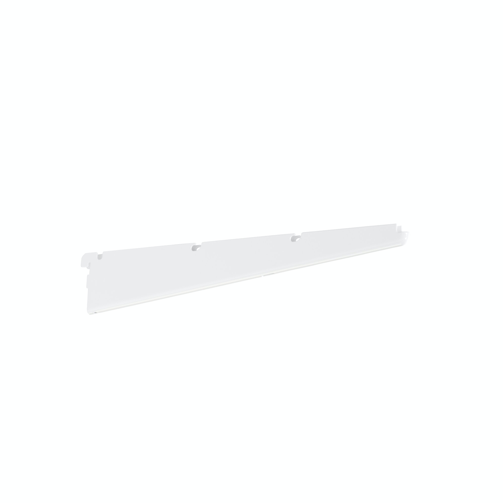 Konsol Elfa för hylla 420mm vit