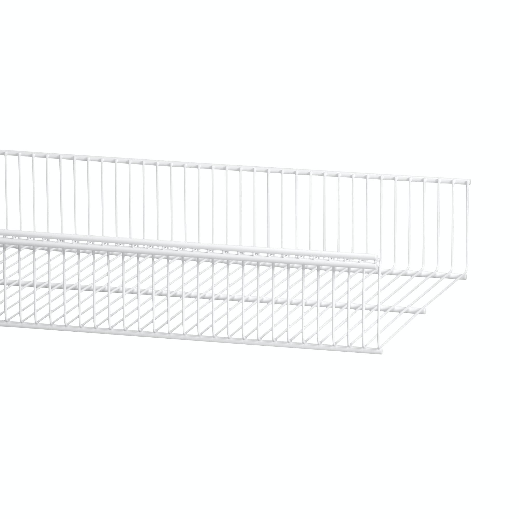Trådhyllkorg Elfa Vit 450x337x96mm