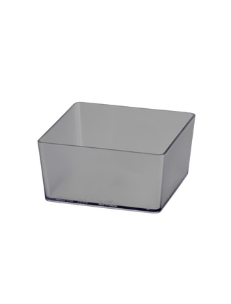 Box Elfa Utility Fyrkantig Transparant 98X98X48mm