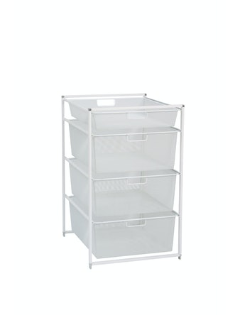 Startpaket Elfa Basic 74-45 mesh vit