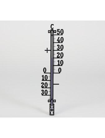 Termometer Cofa För Inne Och Ute Svart 290mm