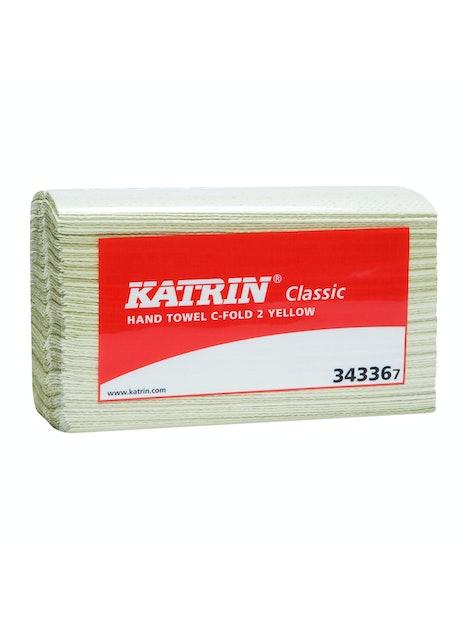 KÄSIPYYHE KATRIN CLASSIC C-TAITETTU KELTAINEN