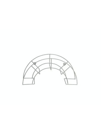 Slanghållare Cofa Vägg För 60m Slang Vit