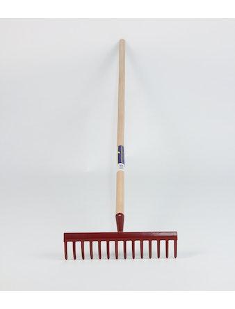 Kratta Cofa Röd metal/trä 150cm
