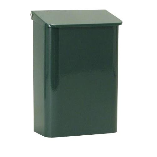 Postlåda Cofa Bascic 345X240X135mm metall Grön