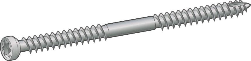 Konstruktionsskruv Essve Et-T 6,5X65mm 100-Pack