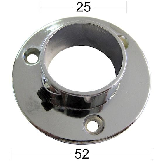 Populära Rörhållare Habo 351-25 Vit - K-rauta KO-17