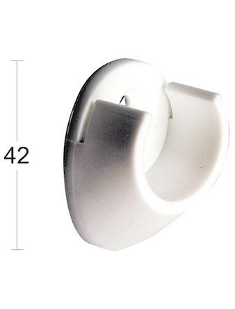 Rörhållare Habo 240-25 Plast Vit