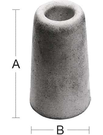 Dörrstopp Habo 27 50mm Vit