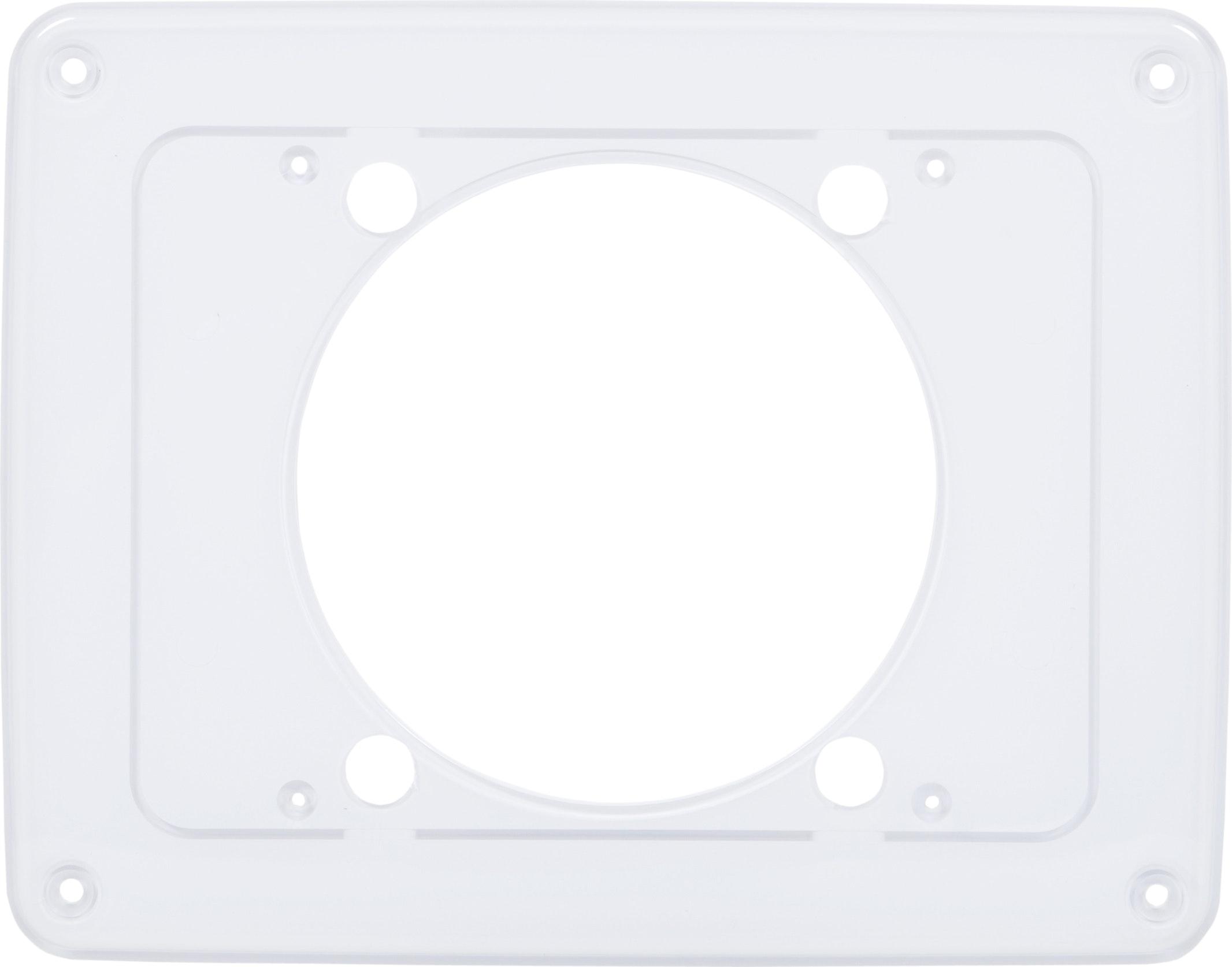 Täckplatta Fresh Badrumsfläkt Intellivent 242x190mm Vit