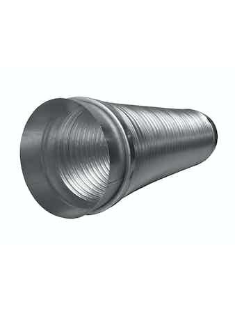 Aluminiumslang Fresh Med Muff 125X1500mm 381215