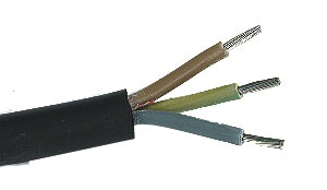 Kabel Gelia Rdoe 5G 1,5 H07Rn-F 10m Svart