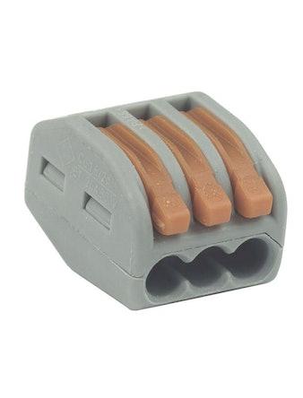 Kopplingsklämma Wago 3x0.08-2.5 Kvmm 5St