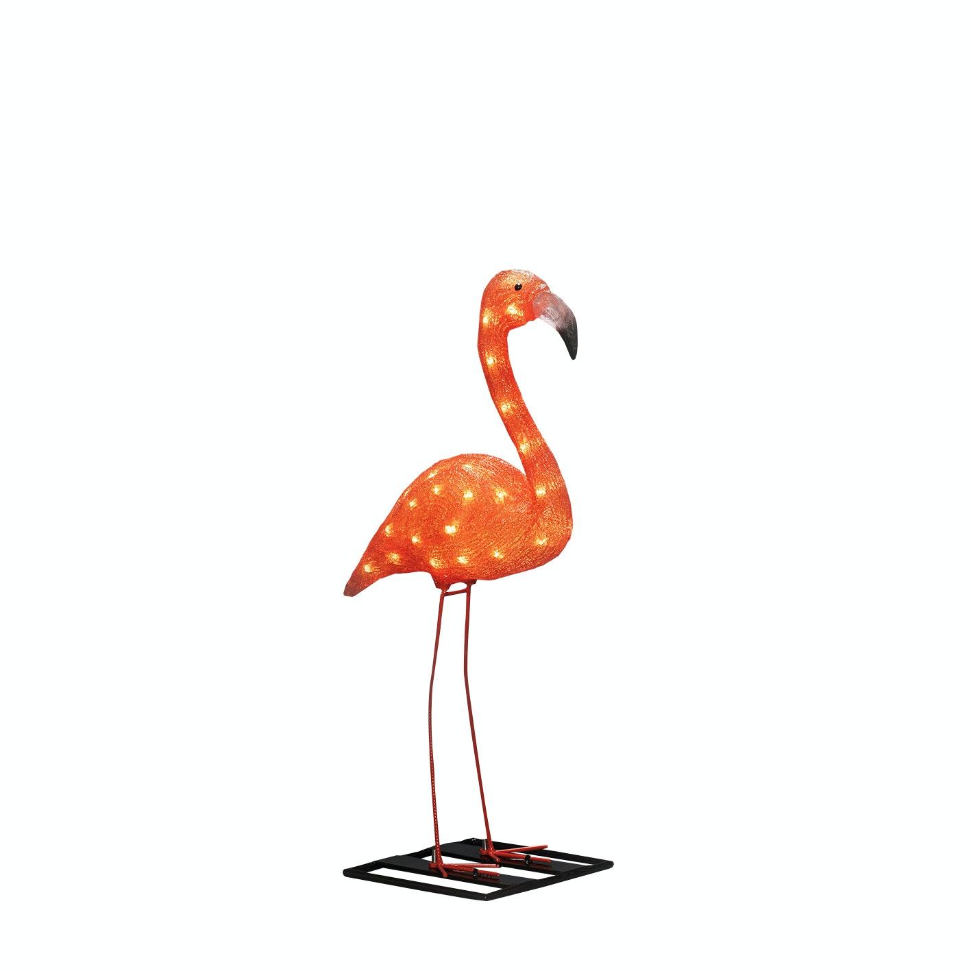 Trädgårdsbelysning Konstsmide Flamingo 70cm