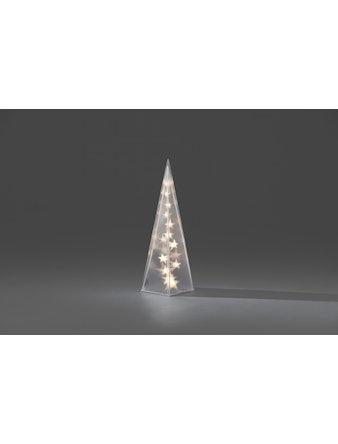 Pyramid Konstsmide 45cm Med 16 varmvita Ledlampor