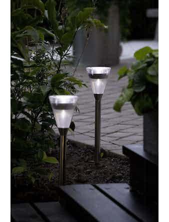 Solcellslampa Konstsmide Assisi Med Led Plast 7635-000