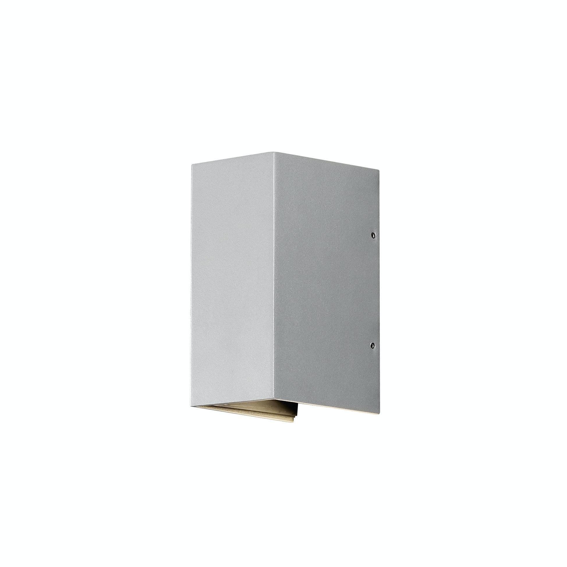 Vägglykta Konstsmide Cremona LED grå 2x3w