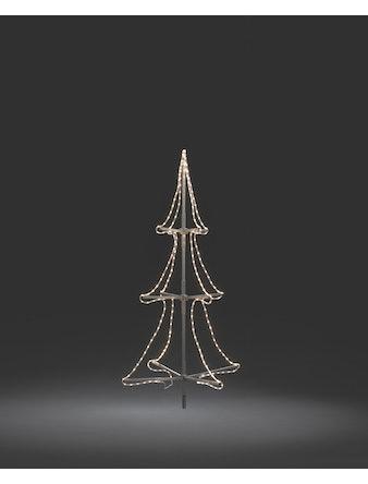 Träd Konstsmide Ropelight Aluminium 2m 216 LED